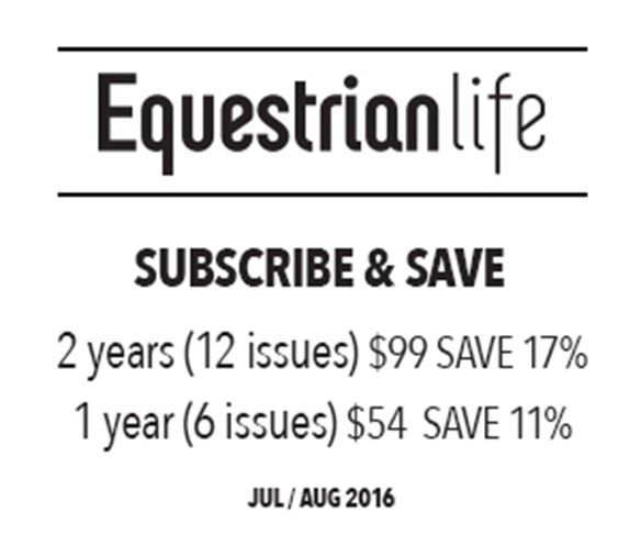 Equestrian Life Winner Announced From Our Issue 30 May