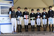 Medium 4.3 Presentation at the Vic Youth Dressage Championships