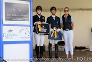 Medium Champion & Reserve Champ Presentation at the Vic Youth Dressage Championships