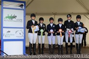 Pony Novice 2.2 Presentation at the Vic Youth Dressage Championships