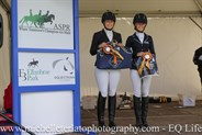 Pony Novice Champion & Reserve Champ Presentation at the Vic Youth Dressage Championships