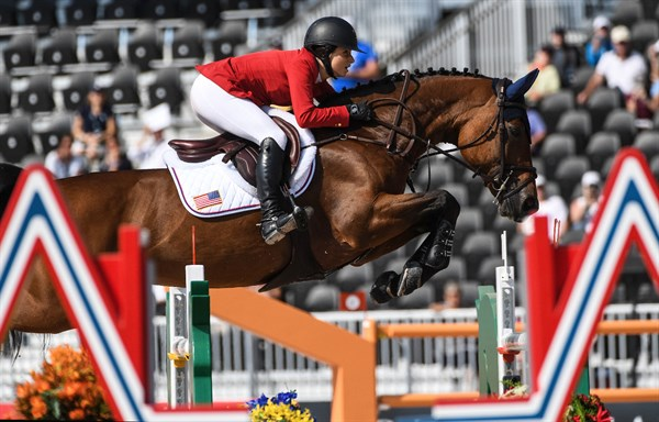 Adrienne Sternlicht of the United States on Cristalline - © FEI/Martin Dokoupil