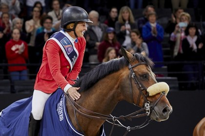 America's Beezie Madden and Breitling LS - © FEI/Liz Gregg