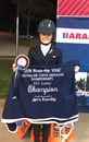 Amy Bachmann, winner of the Jim's Fencing FEI-Junior Championship. © Dana Krause