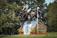 Andrew Barnett from NSW on Bradgate Park Fonzie took out the CCI2* © Michelle Terlato