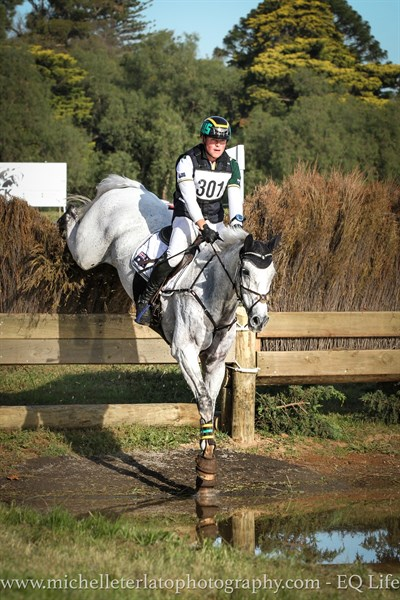 Andrew Cooper on Evergem Perfection in the CCI3* © Michelle Terlato