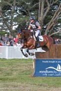 Andrew Cooper on Tasman Park Ovation in the CCI3* © Michelle Terlato