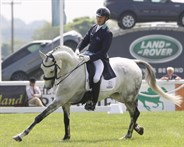 Andrew Hoy and Basmati at Tattersalls Horse Trials (Dressage) - © Lorraine O'Sullivan/Tattersalls Horse Trials