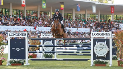 Ben Maher and Explosion W  © LGCT / Stefano Grasso