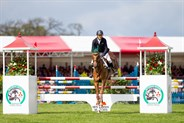Bill Levett and Lassban Diamond Lift finsihed in 15th place. © Elli Birch/BootsandHooves