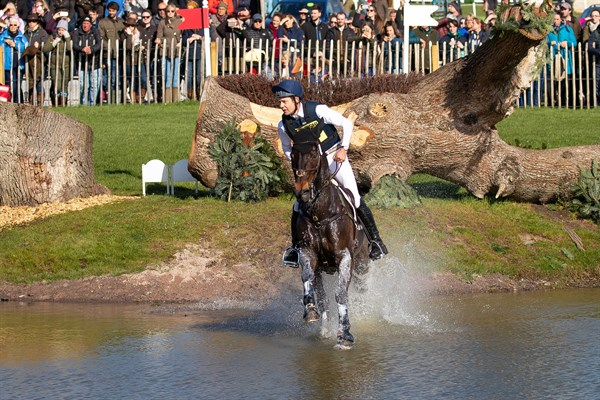 Chris Burton and Cooley Lands were fifth after the cross country. © Elli Bich/BootsandHooves