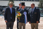 Boyd Excell at the Driving Dressage presentation