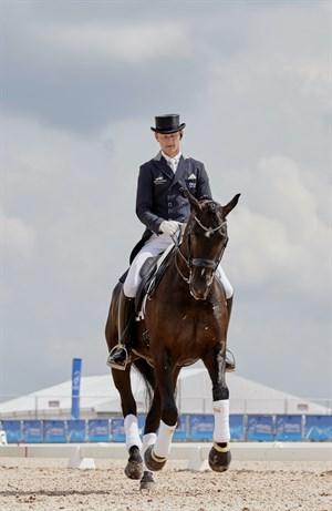 Brett Parbery and Rabbit and the 2018 World Equestrian Games © FEI