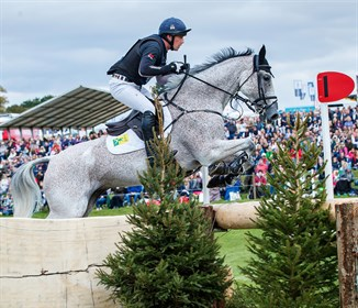 Britain's Oliver Townend (37) has jumped back up to the world number one slot in the FEI Eventing World Rankings © FEI/Libby Law