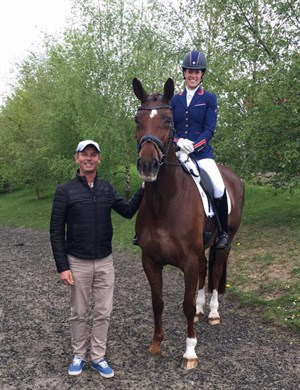Equestrian life charlotte dujardin wins three titles at for Dujardin facebook