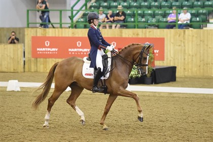 Charlotte Dujardin and Gio at Hartpury's Festival of Dressage © Kevin Sparrow Photography