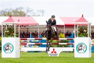 Chris Burton and Cooley Lands finished third. © Elli Birch/BootsandHooves