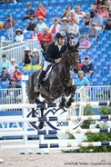 Chris Burton and Cooley Lands had a clear round - © Michelle Terlato