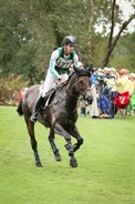 Chris Burton and Cooley Lands on course - © Michelle Terlato