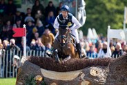 Chris Burton and Graf Liberty were third after the cross country. © Elli Birch/BootsandHooves