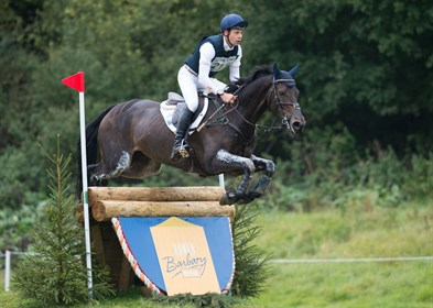 Chris Burton and Cooley Lands, winners of the SsangYong Blenheim Palace International Horse Trials CIC3* 8/9 year old horse class. © Adam Fanthorpe