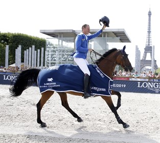 Christian Ahlmann and Ailina at the LGCT in Paris © LGCT/Stefano Grasso