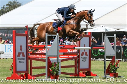 Christine Bates won the CIC3* on Adelaide Hill - © Michelle Terlato Photography