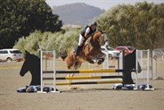A rider in the level three section - © Adele Severs/EQ Life