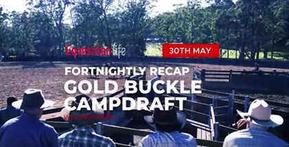 EQ Recap - Willinga Park World Championship Gold Buckle Campdraft