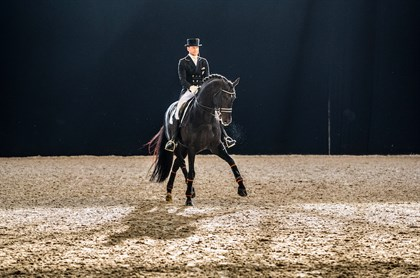 Edward Gal riding Glock's Zonik, second FEI World Cup Dressage™ Amsterdam. © FEI/Digishots