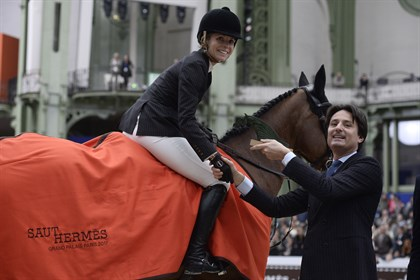 Edwina Tops-Alexander and California won the Grand Prix at Saut Hermès, 2017 - © Christophe Bricot/Saut Hermès
