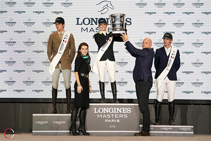 Edwina Tops-Alexander, winner of the Longines Grand Prix of Paris, 2018. © Sportfot & Jessica Rodrigues for EEM