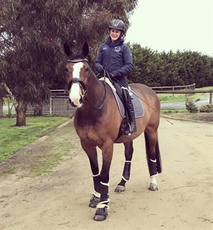 Emma Booth's new partner, Sabi. Photo supplied.