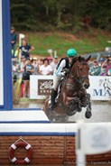 Emma McNab and Fernhill Tabasco in action - © Michelle Terlato
