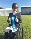 Emma was very successful at the Australian Dressage Championships. © Emma Booth