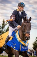 For Shane Rose and Easy Turn, victory is sweet in the MI3DE CCI1* - © Geoff McLean/Gone Riding Media