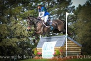 Gemma Tinney on Annapurna in the CCI2* © Michelle Terlato