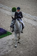 Isabel English and Feldale Mouse scored 34.5 in the dressage