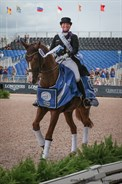 Isabell Werth and Bella Rose, gold medal winners in the Grand Prix Special - © Mcihelle Terlato
