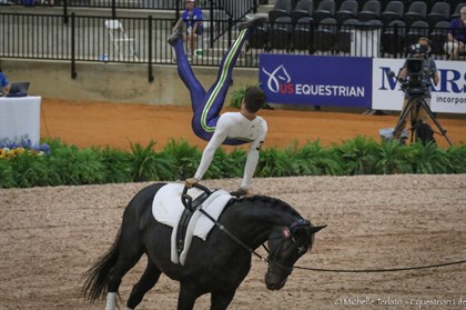 Jamie Hocking and French Kiss for Australia - © Michelle Terlato