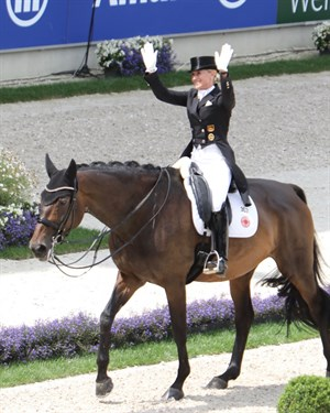 Jessica von Bredow-Werndl and TSF Dalera BB were third.