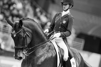 Laura GRAVES and VERDADES in the FEI World Cup Dressage Final ll, Grand Prix Freestyle © Cara Grimshaw/FEI