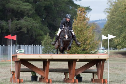 Murray Lamperd and Chocoholic won the CIC3* at the 2018 Ballarat International Horse Trials - © Felicity Clay Photography