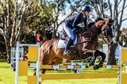 Olivia Barton and APH Bertie Bad, finishing 3rd in the CIC3* - © Geoff McLean/Gone Riding Media