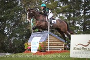 Olivia Barton on APH Bertie Bad in the CCI2* © Michelle Terlato