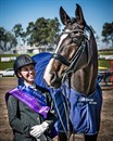 Para-Dressage athlete Zoe Vorenas and Neversfelde Kipling © Stephen Mowbray