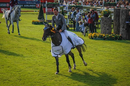 Philipp Weishaupt and Coby 8, winners of the Prize of Sta¨dteRegion Aachen in memory of Landrat Hermann-Josef Pu¨tz
