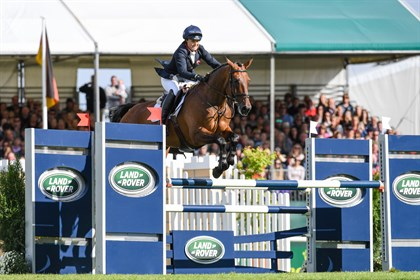Pippa Funnell and MGH Grafton Street. Image: @lrbht_official