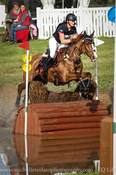 Rebecca Barling on On Your Mark in the CCI 1* © Michelle Terlato
