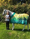 Rebecca Radny and Estragon, FEI World Endurance Championships for Juniors & Young Riders. Photo supplied.